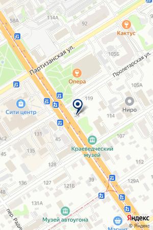 СЦ ЭКСПЕРТ22 на карте Барнаула