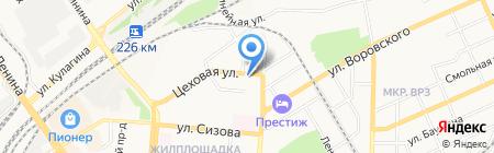 Жилсервис на карте Барнаула