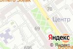 Схема проезда до компании Почта Банк в Барнауле