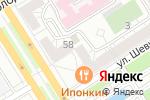 Схема проезда до компании Здоровье алтайской семьи в Барнауле