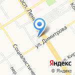 Евродекор на карте Барнаула