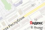 Схема проезда до компании Планета связи в Барнауле