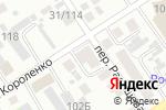 Схема проезда до компании Еврофорточка в Барнауле