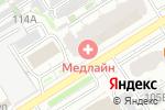 Схема проезда до компании Медлайн в Барнауле