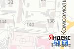 Схема проезда до компании Продуктовый магазин на ул. Воровского в Барнауле