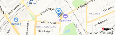 СМСОАУ на карте Барнаула