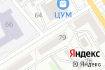 Схема проезда до компании Юридическая компания в Барнауле