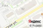 Схема проезда до компании Берёзка в Барнауле