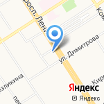 Traveler`s Coffee на карте Барнаула