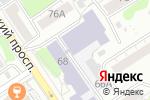 Схема проезда до компании Столовая в Барнауле