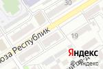 Схема проезда до компании Недвижимость Алтай в Барнауле