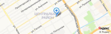 Леон-Строй на карте Барнаула
