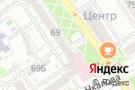 Схема проезда до компании Солодофф в Барнауле
