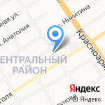 ПРОДЕСТ на карте Барнаула