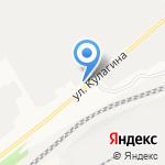 На Полевой на карте Барнаула