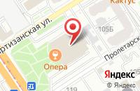 Схема проезда до компании Комбинат Рекламы в Барнауле
