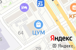Схема проезда до компании Cherry`s Shop в Барнауле