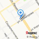 ТВОЕ на карте Барнаула