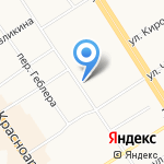 Юридическое бюро на карте Барнаула