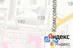 Схема проезда до компании АЗграфик в Барнауле