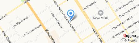 А-Информ на карте Барнаула