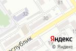 Схема проезда до компании Алтаймедтехника, АКГУП в Барнауле