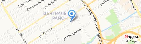 А.Грин company на карте Барнаула