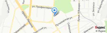 ВАНДА на карте Барнаула