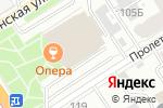 Схема проезда до компании КБ Восточный банк в Барнауле