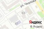 Схема проезда до компании Респект в Барнауле