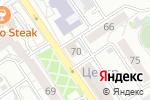 Схема проезда до компании Юридическое бюро в Барнауле