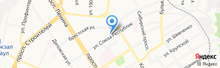 Алтаймедтехника АКГУП на карте Барнаула