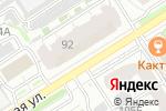 Схема проезда до компании Авиталь в Барнауле