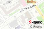 Схема проезда до компании Федеральный центр повышения квалификации и профессиональной подготовки, АНО ДПО в Барнауле