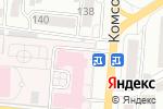 Схема проезда до компании Алтайский краевой противотуберкулезный диспансер в Барнауле