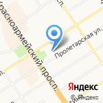 Ажур на карте Барнаула
