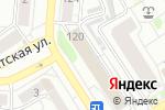 Схема проезда до компании Корн в Барнауле