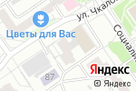 Схема проезда до компании Школа массажа доктора Комиссарова в Барнауле