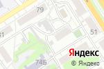 Схема проезда до компании Тенториум в Барнауле