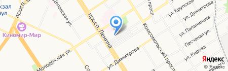 Барнаульское протезно-ортопедическое предприятие на карте Барнаула