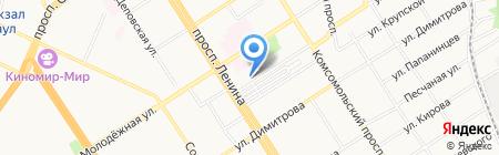 Летопись на карте Барнаула