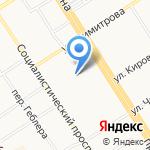 Центр развития ребенка-детский сад №116 на карте Барнаула