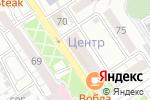 Схема проезда до компании Эвита в Барнауле