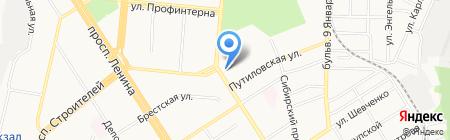 Магия Трав на карте Барнаула