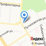 Алтаймелиоводхоз на карте Барнаула