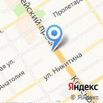 Ассоциация интеллектуальных и настольных игр Сибири на карте Барнаула