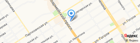Союз журналистов Алтайского края на карте Барнаула