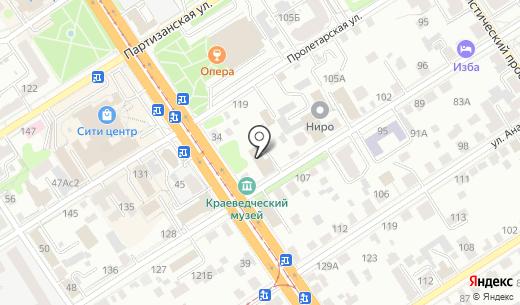 КонсультантПлюс. Схема проезда в Барнауле