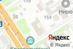Схема проезда до компании КонсультантПлюс в Барнауле