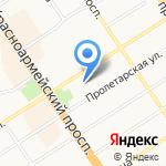 Мойдодыр на карте Барнаула